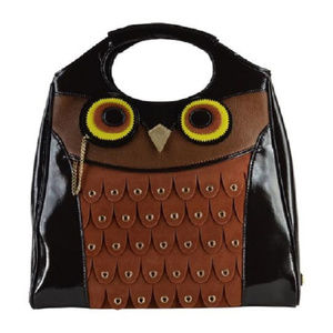 Kate Spade Maximillian Maxwell Owl Bag Tote